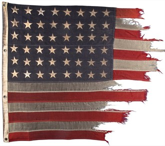 Original D-Day Landing-craft Flag Expected to Fly High in Milestone's Jan. 28 Premier Guns & Military Auction