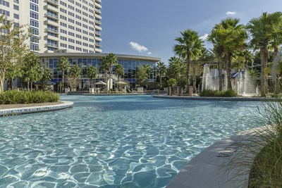 The Grotto Pool at Hyatt Regency Orlando