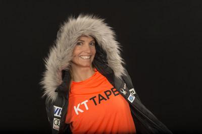 Julia Mancuso - KT Tape athlete ambassador and Olympic champion skier