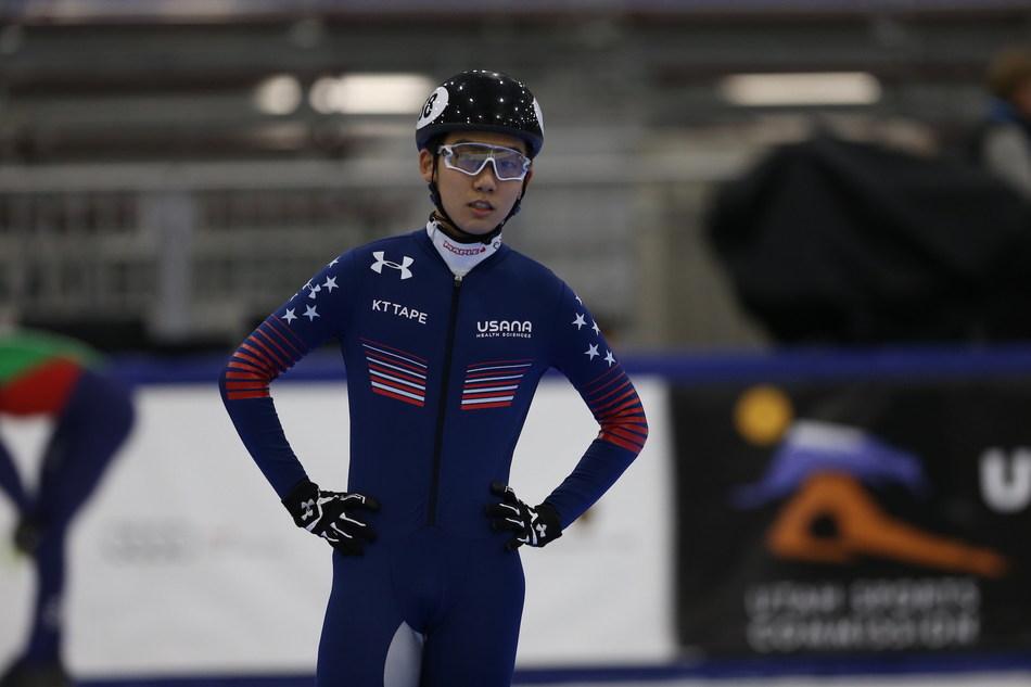 Thomas Hong - KT Tape athlete ambassador and member US Speedskating team