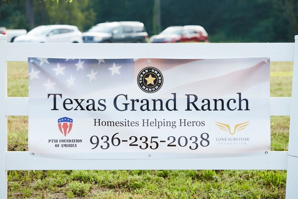 The pace Texas Grand Ranch has grown in less than two years wouldn't have been possible without the veteran community, to date 80 homesites are now owned by our veterans.