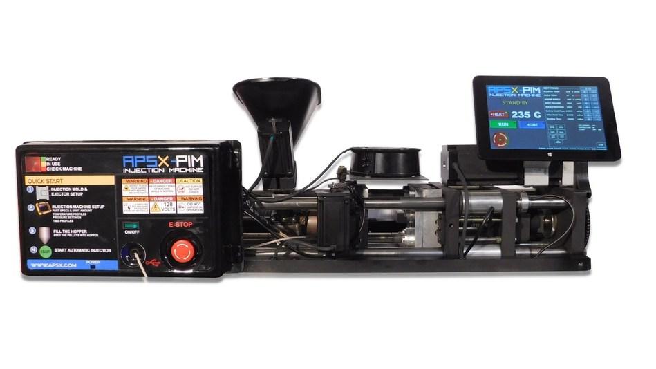 APSX-PIM: Automatic Desktop Electric Injection Machine