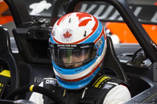Stefan Rzadzinski sur la piste au Marlins Park, à Miami (Floride) (Groupe CNW/Nissan Canada Inc.)