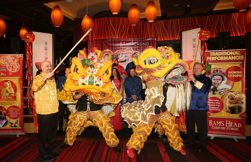 """Live! Casino & Hotel honors the """"Year of the Rooster"""" with a traditional Lunar New Year Celebration on Friday, January 27, 2017, including a """"Cai Qing"""" Ceremony to bless the New Year and bring prosperity to all."""