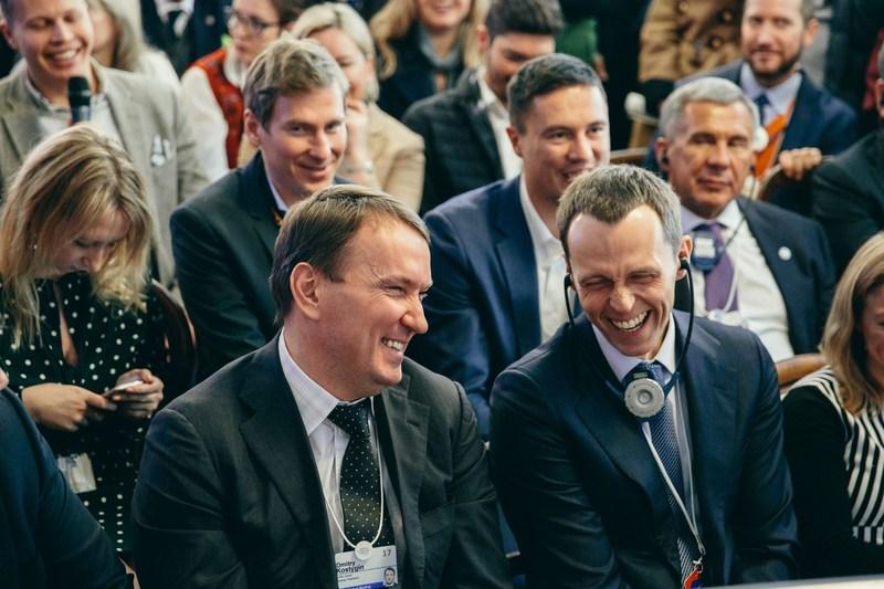 Dmitry Kostygin and Sergey Fateev, members of the board of directors, Ulmart (PRNewsFoto/Ulmart)