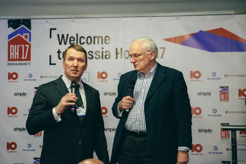 Dmitry Kostygin, Chairman of the board of directors, Ulmart and Nick Gouing (PRNewsFoto/Ulmart)