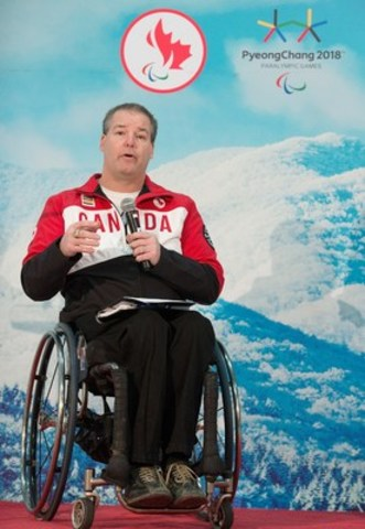 Five-time Paralympian in para ice hockey (formerly known as sledge hockey) Todd Nicholson of Dunrobin, Ont. has been named Team Canada's Chef de Mission for the 2018 Paralympic Winter Games in PyeongChang, South Korea. Photo: Canadian Paralympic Committee (CNW Group/Canadian Paralympic Committee (CPC))