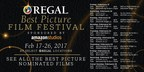 Regal's Best Picture Film Festival Tickets On Sale Tomorrow