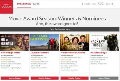 www.Redbox.com/2017-Award-Season