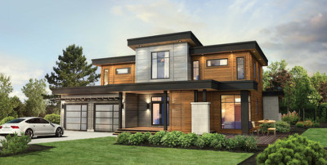Contemporary series. (CNW Group/Timber Block)