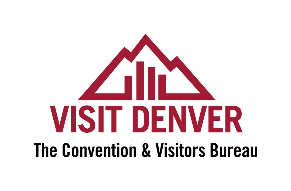 VISIT DENVER, The Convention & Visitors Bureau logo. (PRNewsFoto/VISIT DENVER, The Convention & Visitors Bureau)