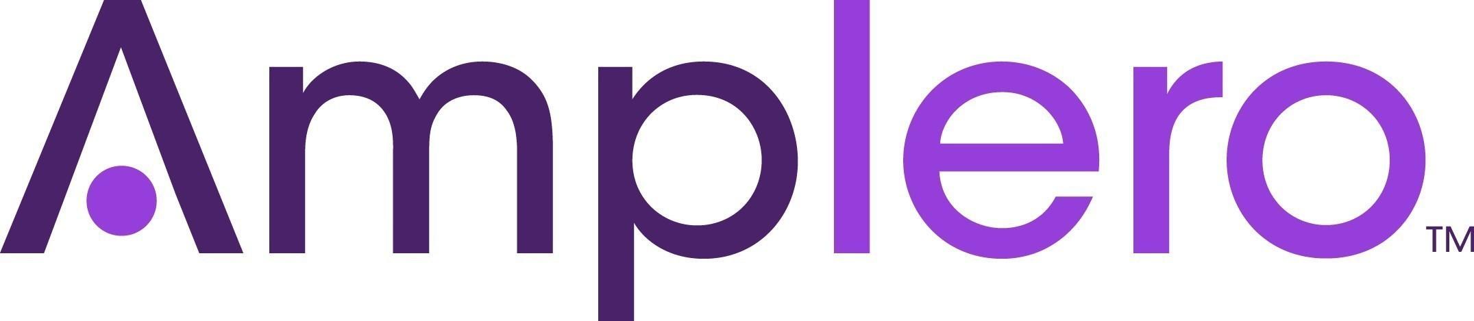 Amplero Logo (PRNewsFoto/Amplero) (PRNewsfoto/Amplero)
