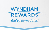 Wyndham Rewards logo (PRNewsFoto/Wyndham Worldwide)