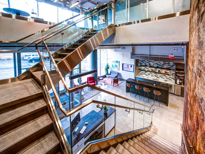 Serendipity Labs is upscale coworking for established professionals, delivering a level of hospitality that compares to luxury hotels. A growing nationwide network, the security and support features make it a viable workplace alternative for midsize and large companies that need traditional offices space options.