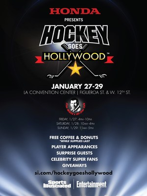 Honda Brings Stan Mikita's All-Star Cafe to 2017 Honda NHL All-Star Weekend in Los Angeles