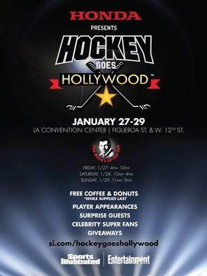 Honda Brings Stan Mikita's All-Star Cafe to 2017 Honda NHL All-Star Weekend in Los Angeles (PRNewsFoto/American Honda Motor Co., Inc.)
