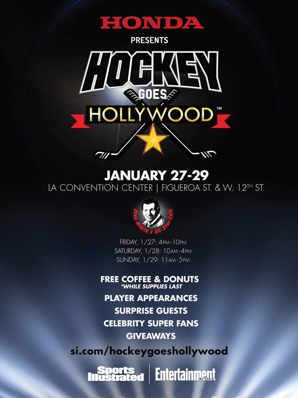Honda Brings Stan Mikita's All-Star Cafe to 2017 Honda NHL All-Star Weekend in Los Angeles
