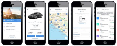 Finance your next car without any hassle via the iOS app