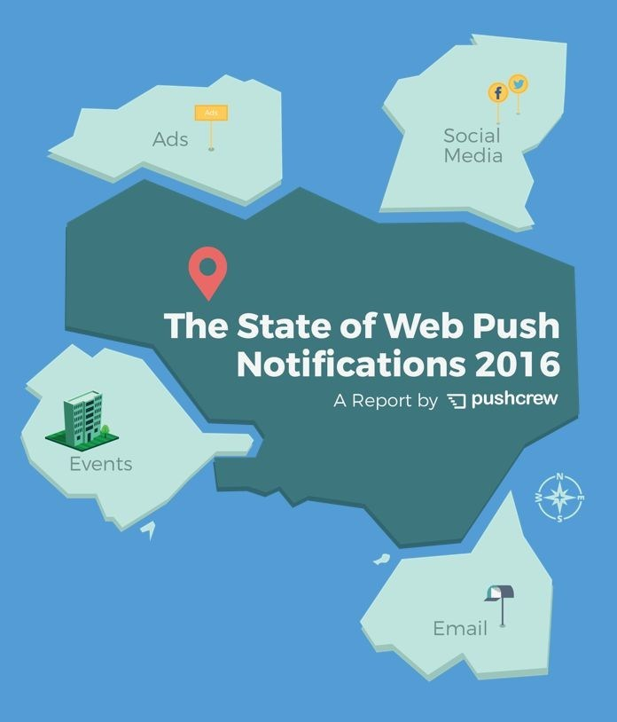 The State of Web Push Notifications 2016 (PRNewsFoto/Wingify)