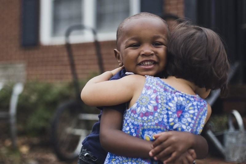 Adopted! - Courtesy of Children's Home Society of North Carolina