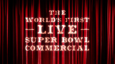 """Image from SNICKERS(R) new Super Bowl ad trailer, titled """"Curtains."""""""