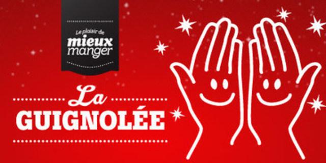 Logo: La guignolée Le plaisir de mieux manger (CNW Group/IGA)