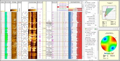 Paradigm Geolog Geomechanics:  Develop a mechanical earth model for well planning and pre-drill geomechanical analyses