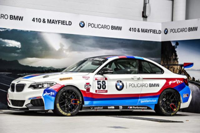 Policaro BMW M235R. (CNW Group/Policaro Automotive Family)