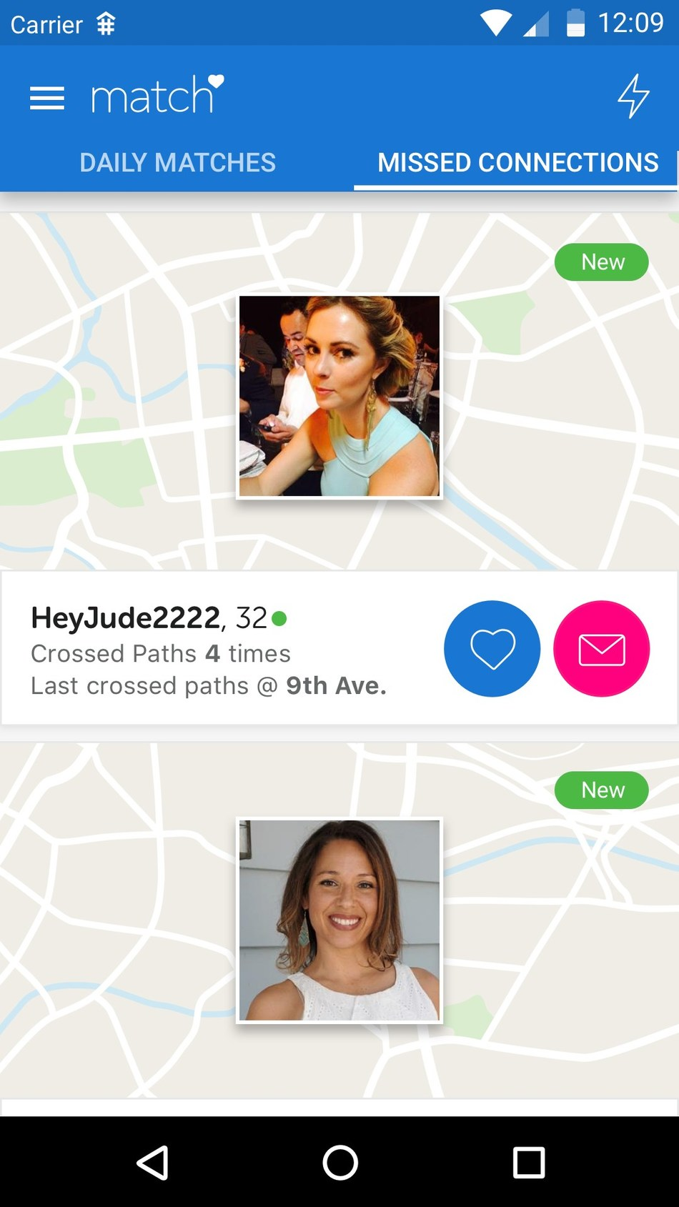 Missed connections dating site