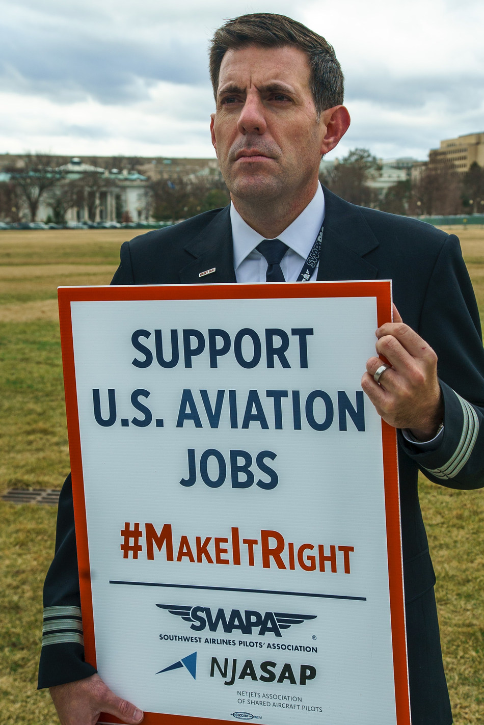 Southwest FO Derek Tate joins more than 140 of his aviation peers in urging the Trump administration to deny a scheme by Norwegian Air International to claim a foothold in the U.S. aviation industry.