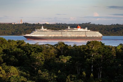 Cunard's Queen Victoria Becomes Largest Passenger Ship to Sail the Amazon