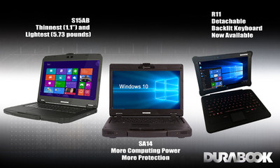 GammaTech's DURABOOK rugged computers are specifically designed to meet challenges and provide cost effective solutions for field service professionals' mobile computing needs.