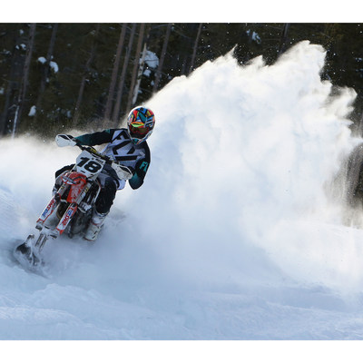 Darrin Mees, 27, will compete in his first X Games as a Snow BikeCross athlete. He's qualified three times for X Games Aspen in SnoCross.