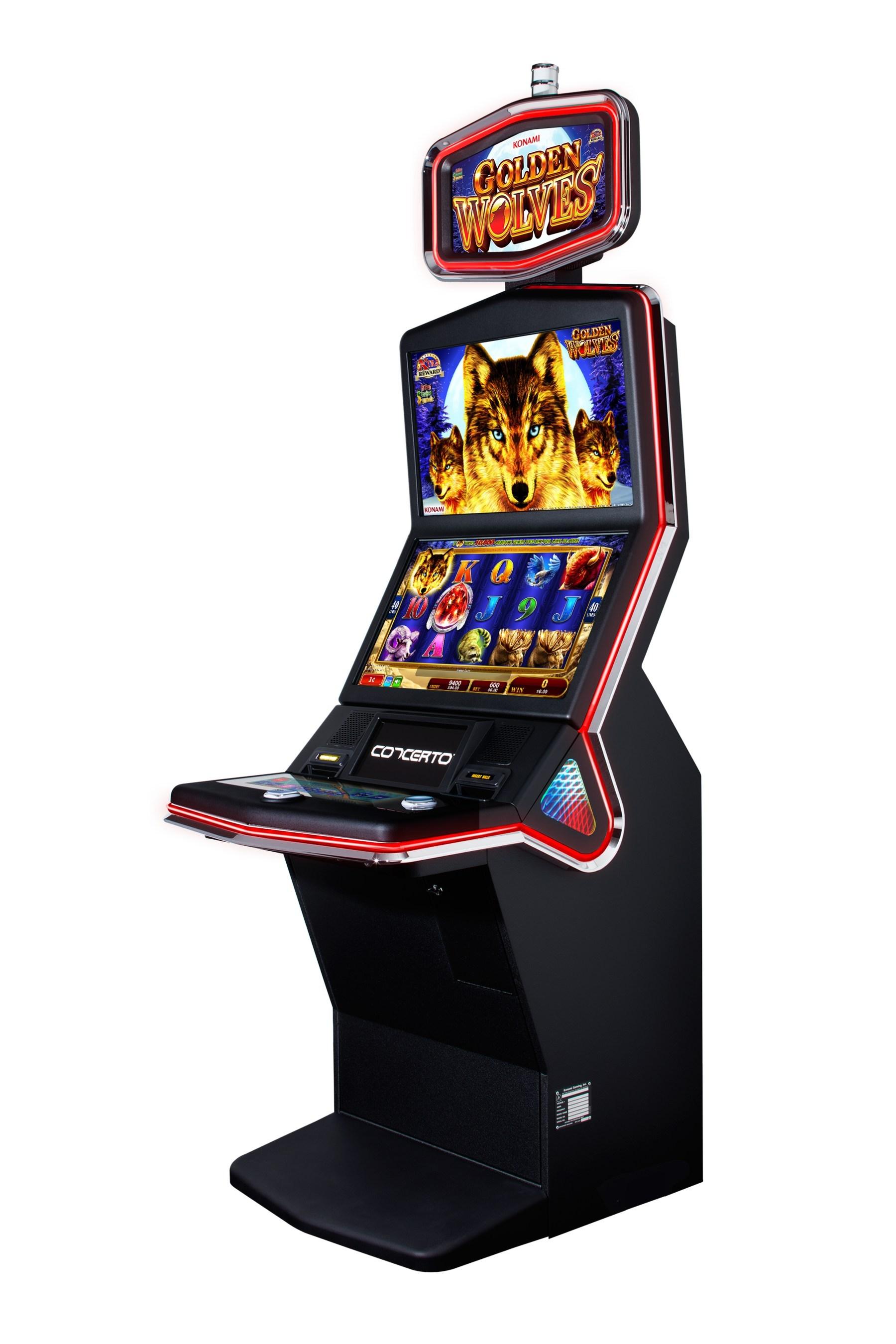 Konami gambling machines