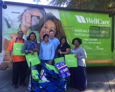 WellCare delivered toiletries, diapers, underwear, socks and other needed relief supplies to Open Arms, Inc. in Albany, Georgia, which is helping those impacted by the devastating tornados.
