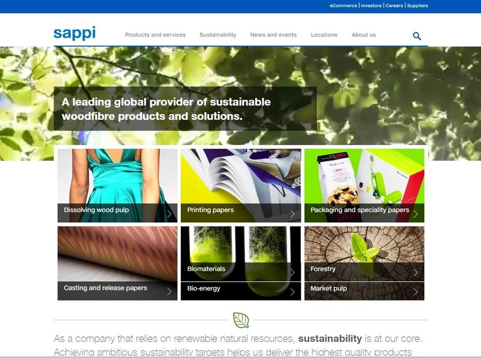 The new Sappi.com