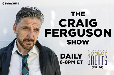 Comedian Craig Ferguson Launches Daily Show Exclusively on SiriusXM