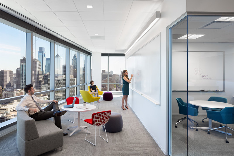 FMC Tower commercial interior (Photo by Chris Cooper Photographer)