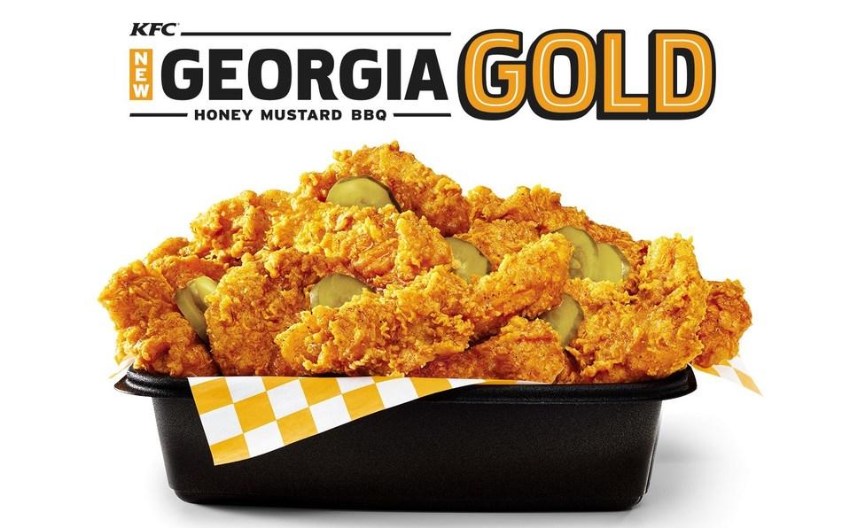 KFC's Georgia Gold is like a grown-up honey mustard - sweet with attitude. (PRNewsFoto/KFC)