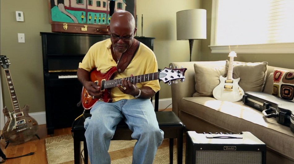 Edwin DePeiza plays the guitar. His guitar playing had taken him all over the world, but the intense pain of shingles forced him to put his passion on hold.