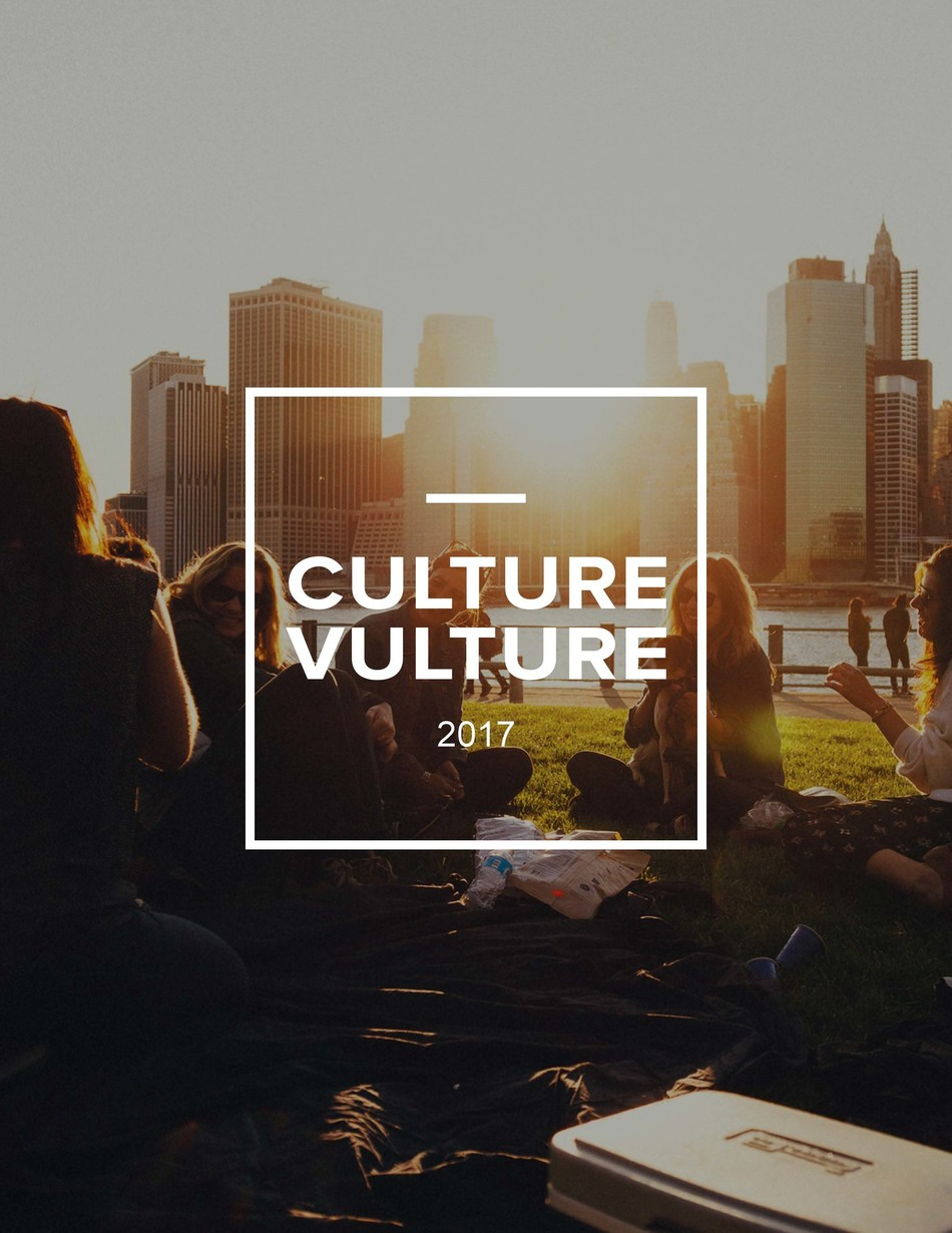 Mindshare North America's 2017 Culture Vulture Trends Report