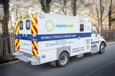 Capital Health Mobile Stroke Unit