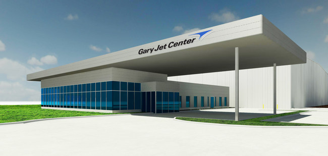 The New Corporate Flight Center at Gary Jet Center
