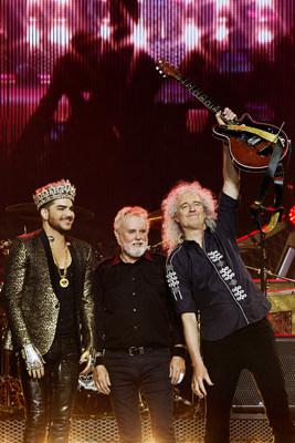 Queen with Adam Lambert, Photo: Xavier Vila