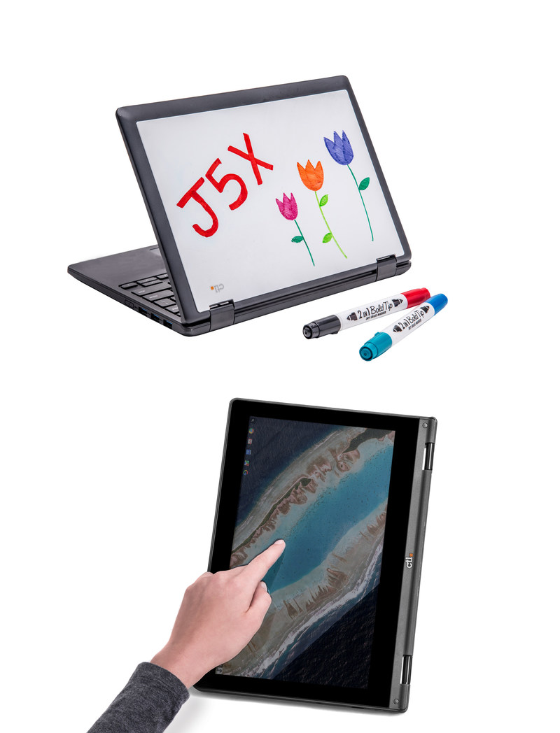 The CTL J5X Rugged Convertible Chromebook for Education