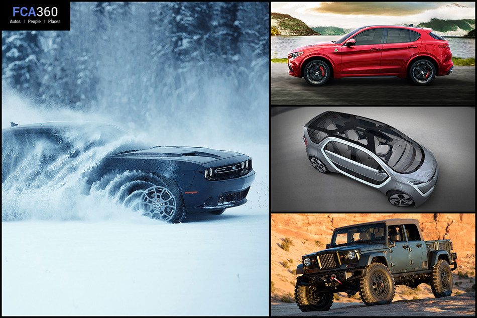This month's edition of FCA360 highlights the latest in product news and announcements from FCA US including the Chrysler Portal concept and 2018 Alfa Romeo Stelvio.