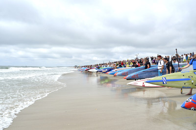 Starting lineup at The Graveyard Race - Courtesy of Wrightsville Beach Paddle Club