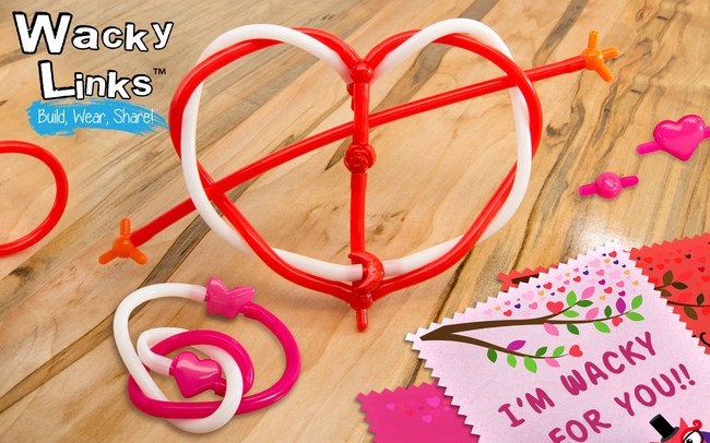 Wacky Links(TM) are wacky fun for Valentine's Day