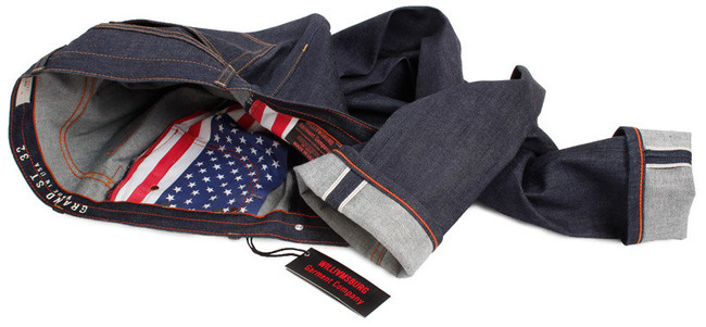 Williamsburg Garment Company American made jeans