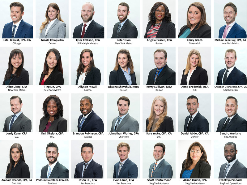 Siegfried Welcomes New Professionals From Across the Country: Employees Travel to Philadelphia for Orientation